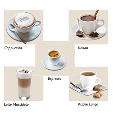 BEEM Germany Espresso Perfect Ultimate, Espresso-Siebträgermaschine mit 20 bar, Silber